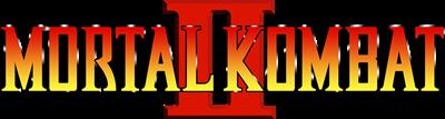 Mortal Kombat II - Clear Logo
