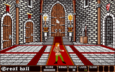 Dark Castle - Screenshot - Gameplay