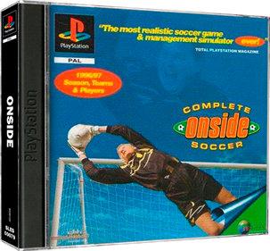 Onside Complete Soccer - Box - 3D