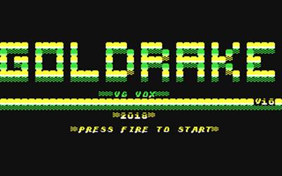 Goldrake - Screenshot - Game Title