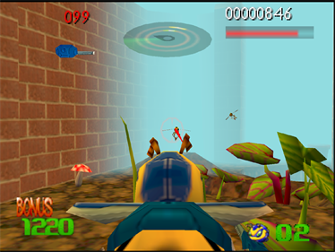 Buck Bumble - Screenshot - Gameplay