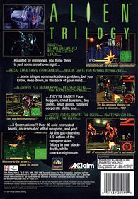 Alien Trilogy - Box - Back