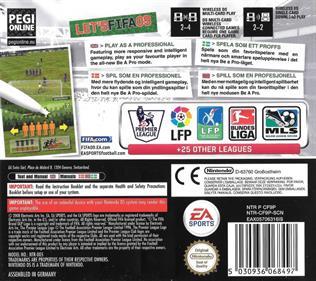 FIFA 09 - Box - Back