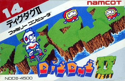 Dig Dug II: Trouble in Paradise - Box - Front