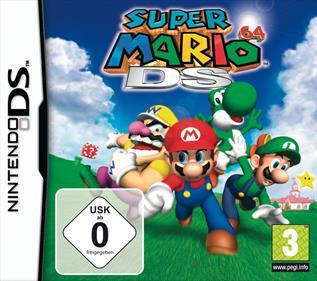 Super Mario 64 DS - Box - Front