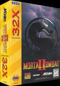 Mortal Kombat II - Box - 3D