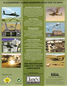 Jane's Combat Simulations: AH-64D Longbow - Box - Back