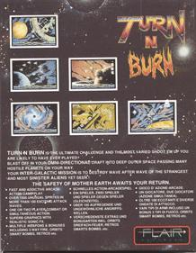 Turn n Burn  - Box - Back