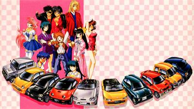 Kat's Run: Zen-Nippon K-Car Senshuken - Fanart - Background