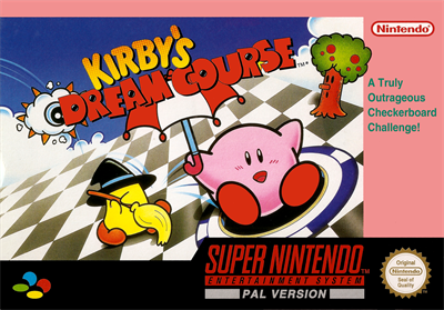 Kirby's Dream Course - Box - Front