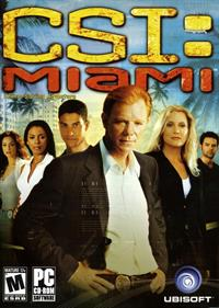 CSI: Miami - Box - Front
