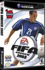 FIFA Soccer 2003 - Box - 3D