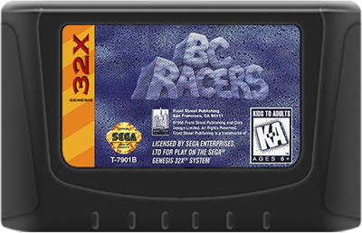 BC Racers - Cart - Front