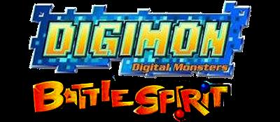Digimon Battle Spirit - Clear Logo