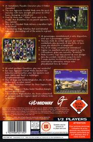 Mortal Kombat Trilogy - Box - Back