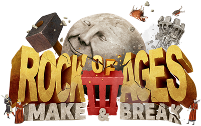 Rock of Ages III: Make and Break - Clear Logo