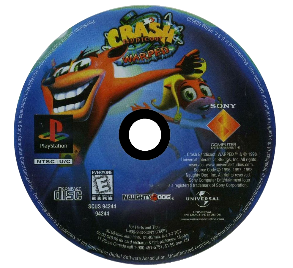 Crash Bandicoot: Warped Details - LaunchBox Games Database