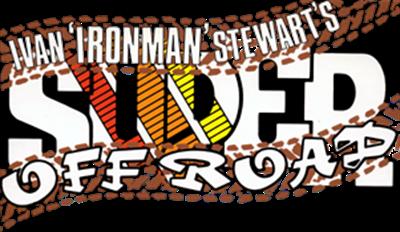 "Ivan ""Ironman"" Stewart's Super Off Road - Clear Logo"