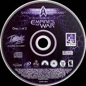 Star Trek: Starfleet Command II: Empires at War - Disc