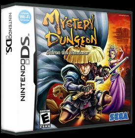 Mystery Dungeon: Shiren the Wanderer - Box - 3D