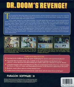 The Amazing Spider-Man and Captain America in Dr. Doom's Revenge! - Box - Back