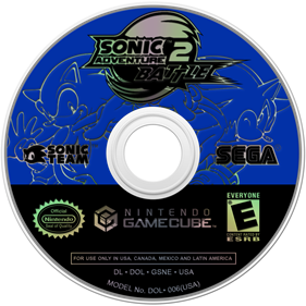 Sonic Adventure 2: Battle - Disc