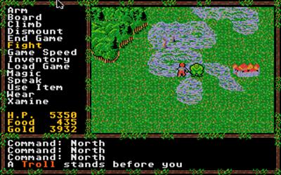 Questron II - Screenshot - Gameplay