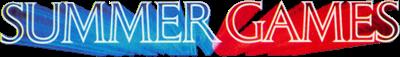 Summer Games - Clear Logo