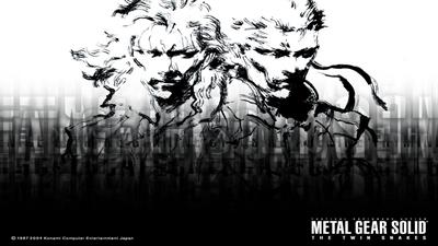 Metal Gear Solid: The Twin Snakes - Fanart - Background