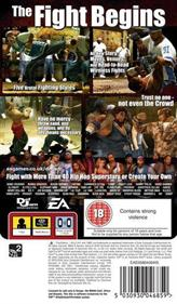 Def Jam Fight for NY: The Takeover - Box - Back