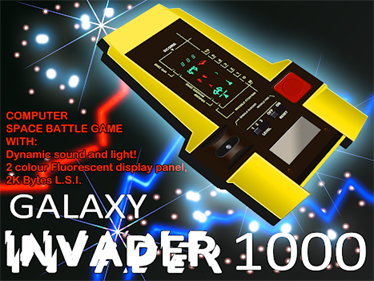 Galaxy Invader 1000 - Box - Front