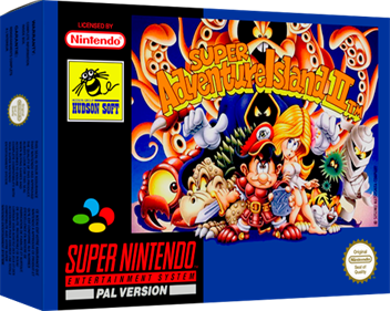 Super Adventure Island II - Box - 3D