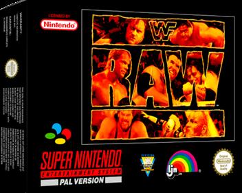 WWF Raw - Box - 3D