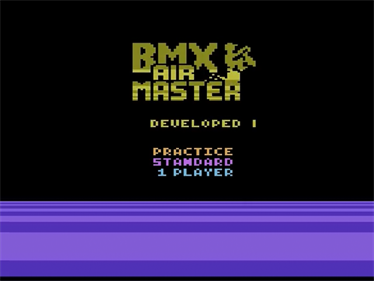 BMX Air Master - Screenshot - Game Title