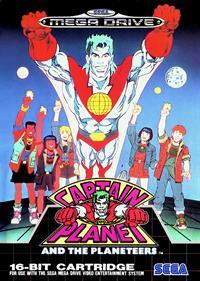 Captain Planet and the Planeteers - Box - Front