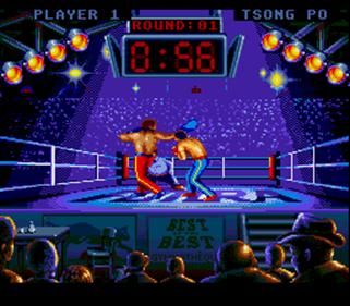 Best of the Best: Championship Karate - Screenshot - Gameplay