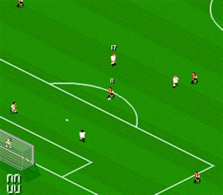 Manchester United Championship Soccer - Screenshot - Gameplay