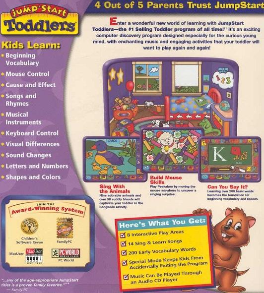 Jumpstart Toddlers Details Launchbox Games Database