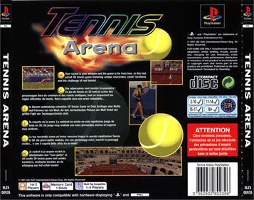 Tennis Arena - Box - Back