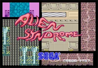 Alien Syndrome - Screenshot - Game Title