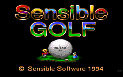 Sensible Golf - Screenshot - Game Title