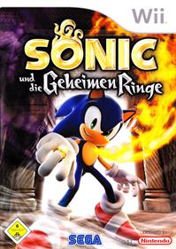 Sonic and the Secret Rings - Box - Front