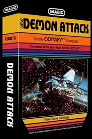 Demon Attack - Box - 3D