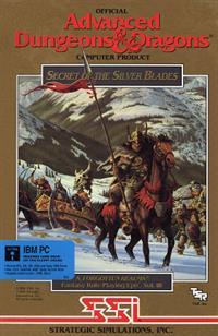 AD&D Forgotten Realms Vol. III: Secret of The Silver Blades