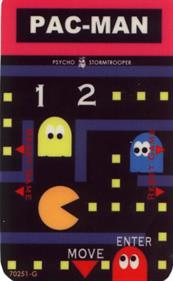 Pac-Man - Arcade - Controls Information
