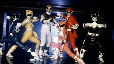 Mighty Morphin Power Rangers: The Movie - Fanart - Background