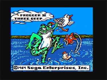 Frogger II: ThreeeDeep! - Screenshot - Game Title