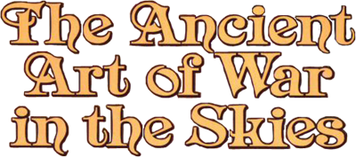 The Ancient Art of War in the Skies - Clear Logo