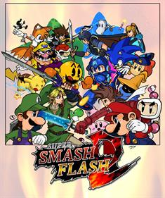 Super Smash Flash 2 - Fanart - Box - Front