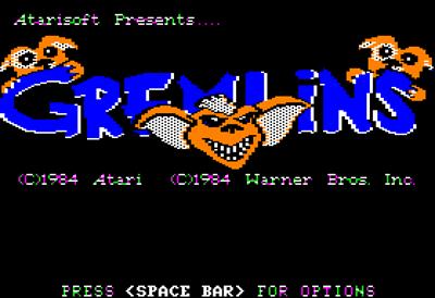 Gremlins - Screenshot - Game Title